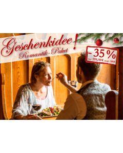 Weihnachtsaktion Romantik-Paket für Zwei